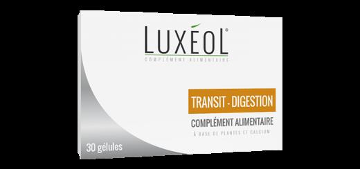 Luxéol Transit-Digestion pour un confort digestif et intestinal