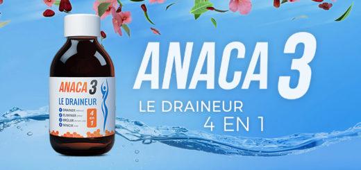 Anaca3 le draineur : efficace pour brûler les graisses ?