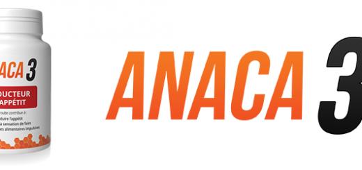 Anaca 3 réducteur d'appétit pour limiter les grignotages?