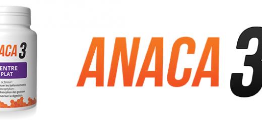 Anaca3 ventre plat: Avis sur ce complément ?