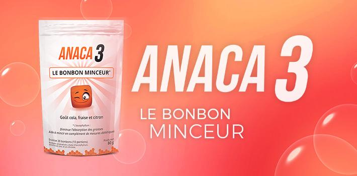 Anaca3 le bonbon minceur pourquoi l'utiliser ?