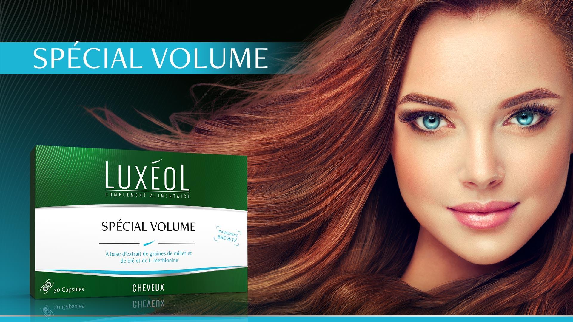 donner du volume à vos cheveux avec luxéol spécial volume
