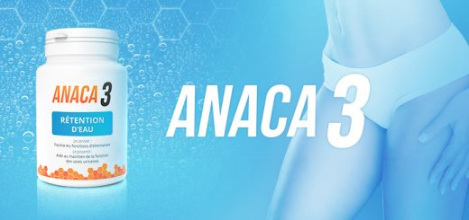 Anaca3 rétention d'eau en 60 gélules