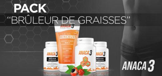 Anaca3 Pack Brûleur de Graisse
