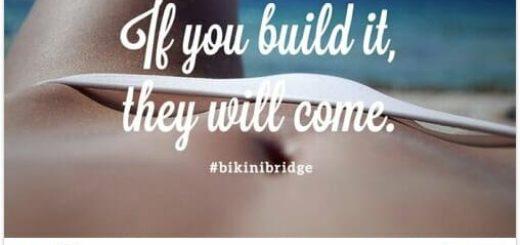 Bikini Bridge la derniere folie minceur a partager