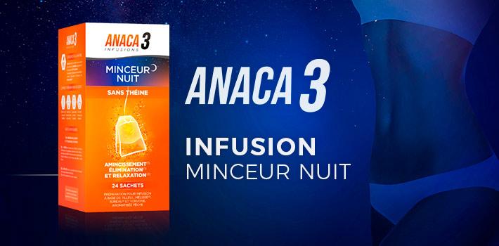 Anaca3 infusion minceur nuit : où l'acheter