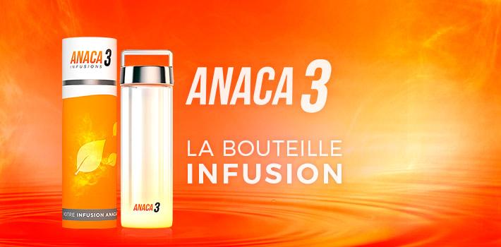 La bouteille infusion Anaca3, conseils d'utilisation