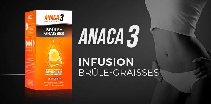 Anaca3 Infusion brûle-graisses : zoom sur ce nouveau produit naturel