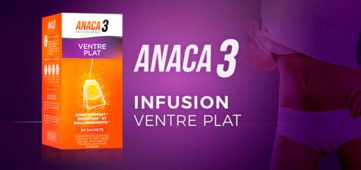 L'infusion ventre plat Anaca3 pour vous aider à garder la ligne