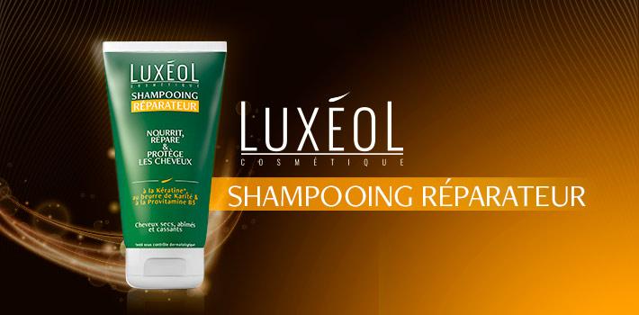 Shampooing réparateur Luxéol pour soigner vos cheveux