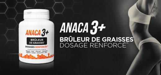 L'utilisation d'Anaca3+ brûleur de graisses pour aider à perdre du poids